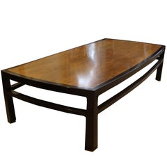 Mid-Century Modern Wormley for Dunbar Rare Mahogany Rectangular Coffee Table