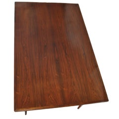 Danish Rosewood Dining Table by Omann Jun.