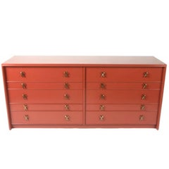 Paul Frankl Ten-Drawer Dresser