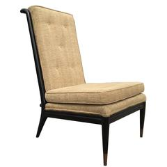 High Back Slipper Chair by John Widdicomb