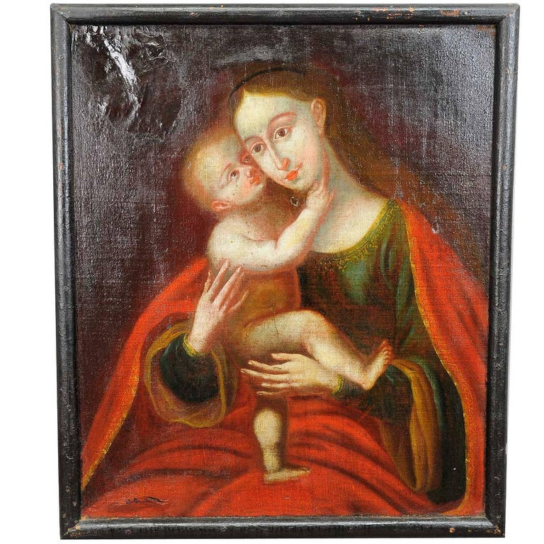 Unknown, Miraculous Image of Innsbruck Maria with Child after Cranach For Sale