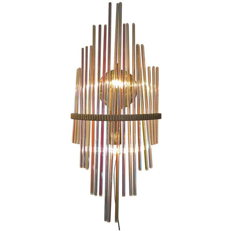 Pair of Wall Lamps, Design, Sciolari, 1960 For Sale