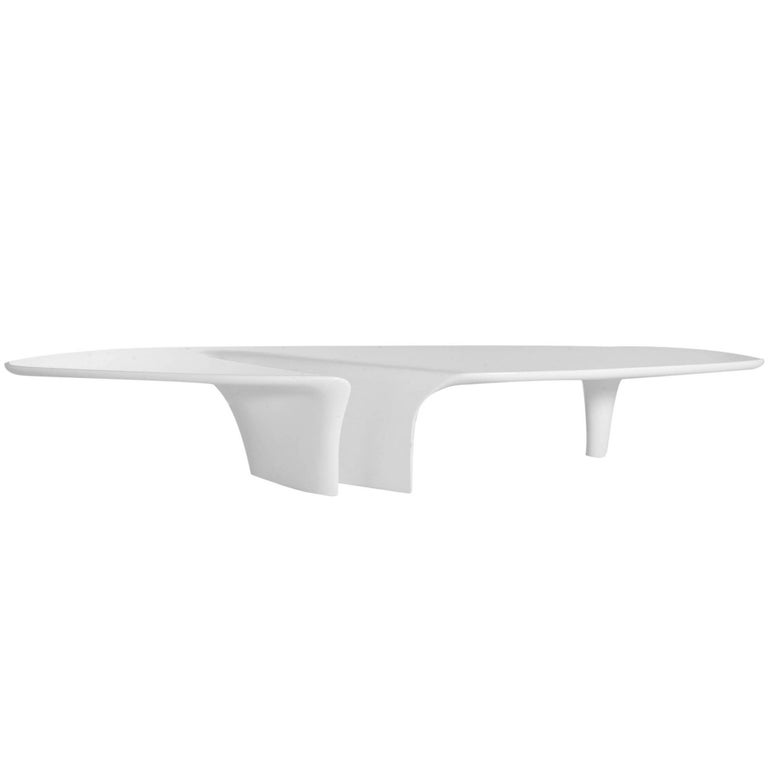 """""""Waterfall"""" Lacquered Coffee Table Designed by Fredrikson Stallard for Driade"""