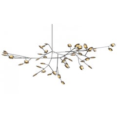 Bocci 16.46  Forty-Six Pendant Led Armature Fixture in Glass and Stainless Steel