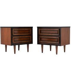 Pair of Mid-Century Modern Style Nightstands