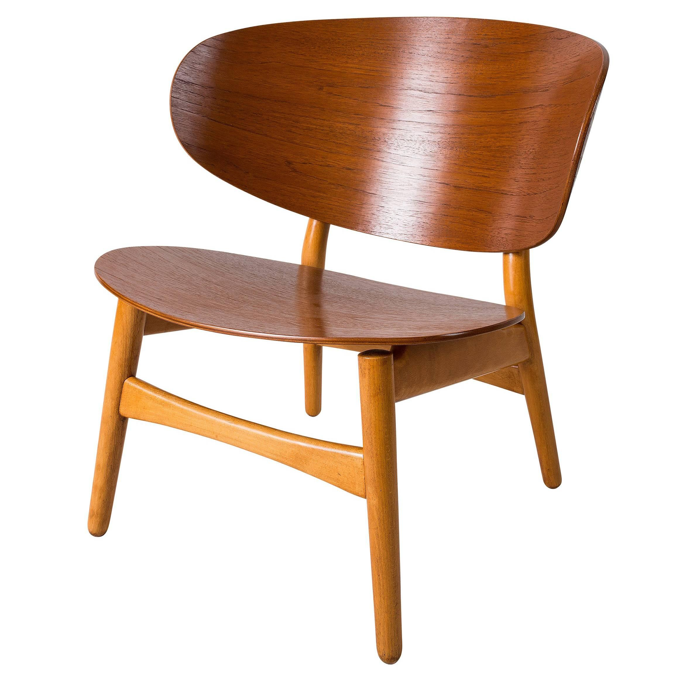 "Hans Wegner ""Shell"" Chair Model FH-1936"