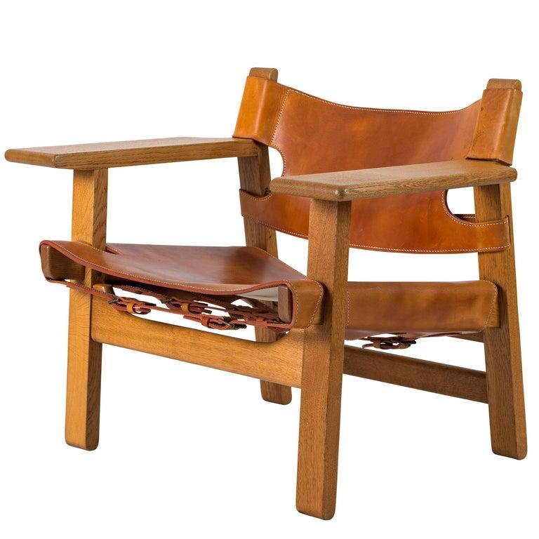 """Børge Mogensen """"Spanish"""" Chair"""