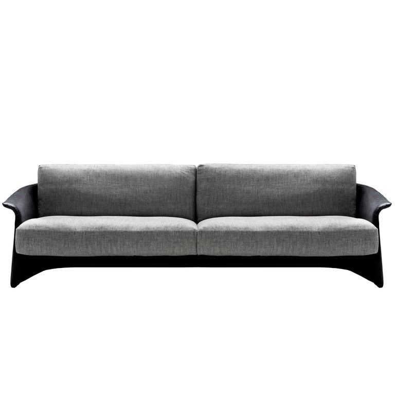 gar onne leather or fabric and goose feather sofa by. Black Bedroom Furniture Sets. Home Design Ideas