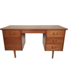Mid-Century Walnut Desk