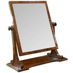 Gillows Mahogany Dressing Table Mirror