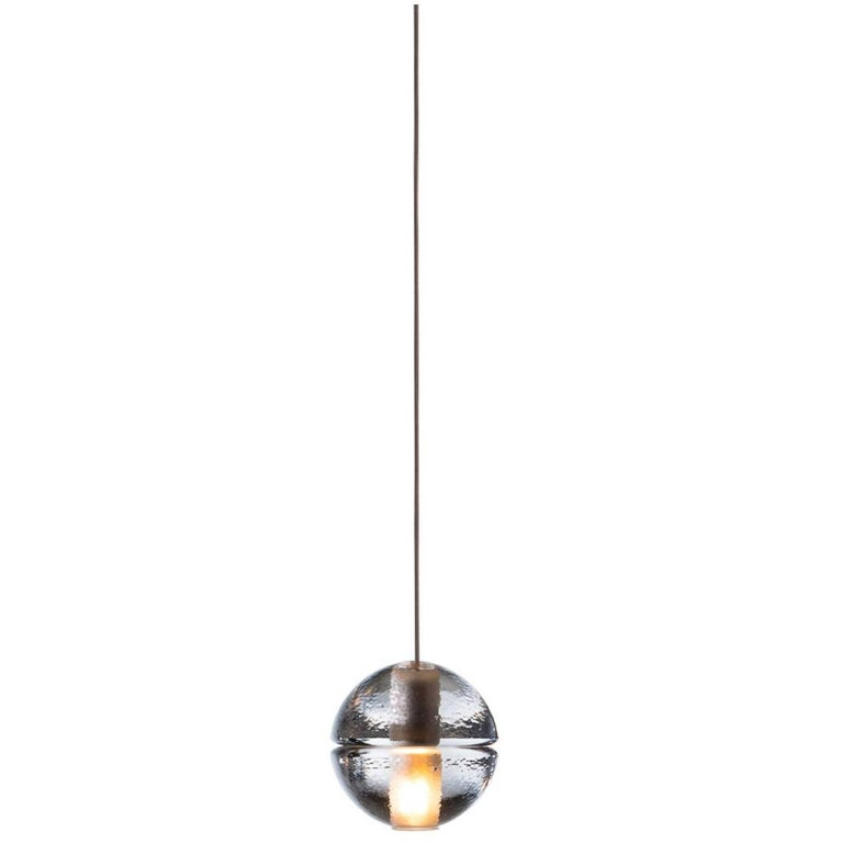 bocci 14 1 single pendant in cast glass with led or xenon bulb for