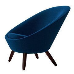 """Ten"" Fabric or Leather Armchair Designed by Naoto Fukasawa for Driade"