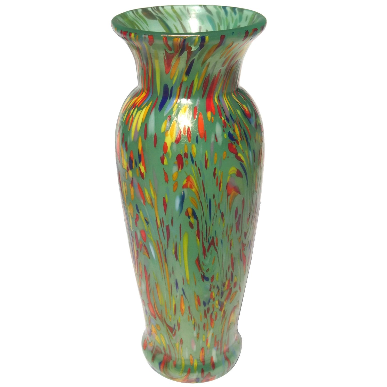 Loetz art deco green speckled ausfhrung 237 vase at 1stdibs reviewsmspy