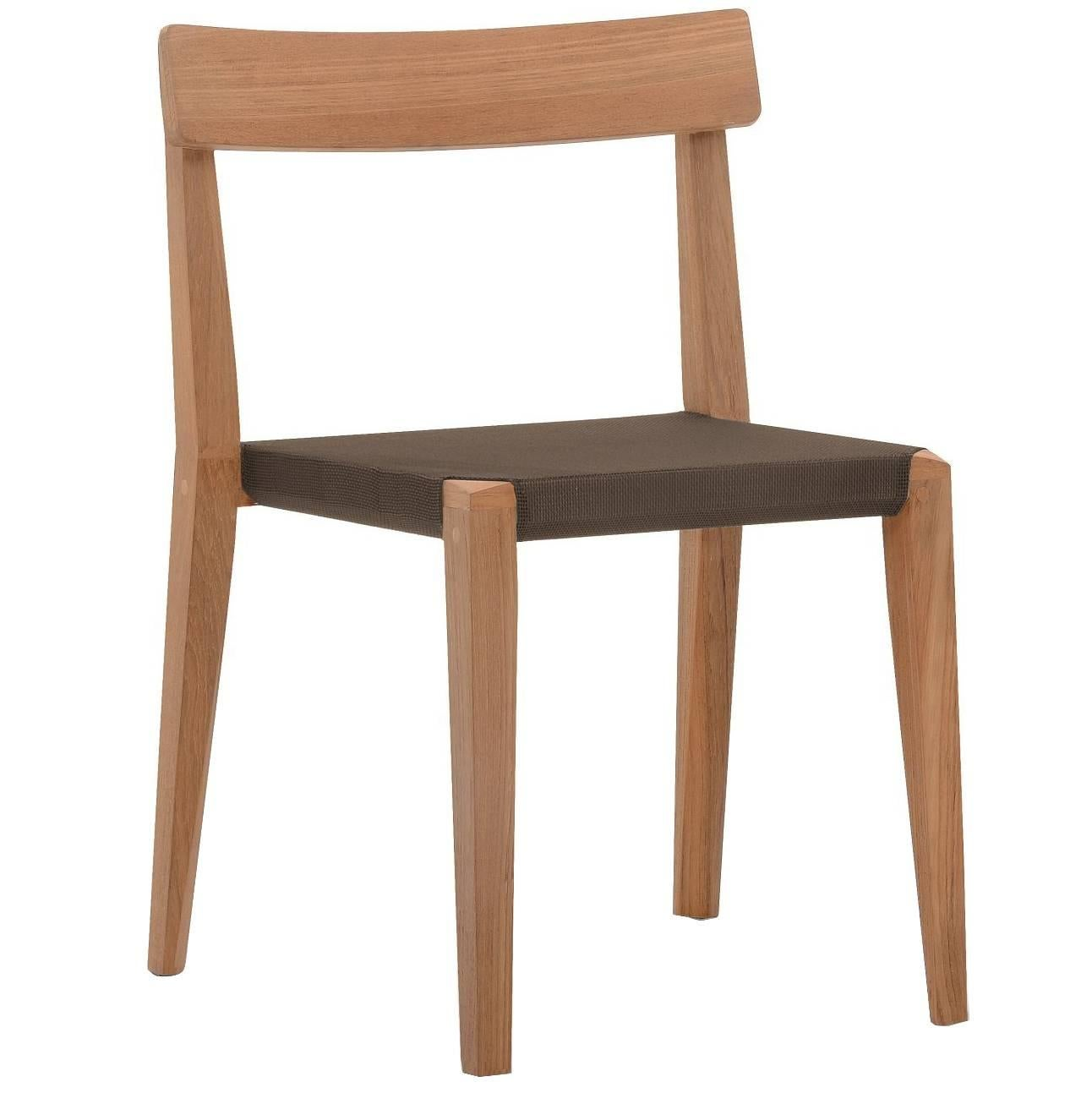 Roda Teka 171 Indoor/Outdoor Stacking Chair Designed By Gordon Guillaumier  For Sale
