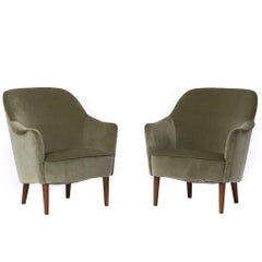 Danish Modern Sampsell Lounge Chairs