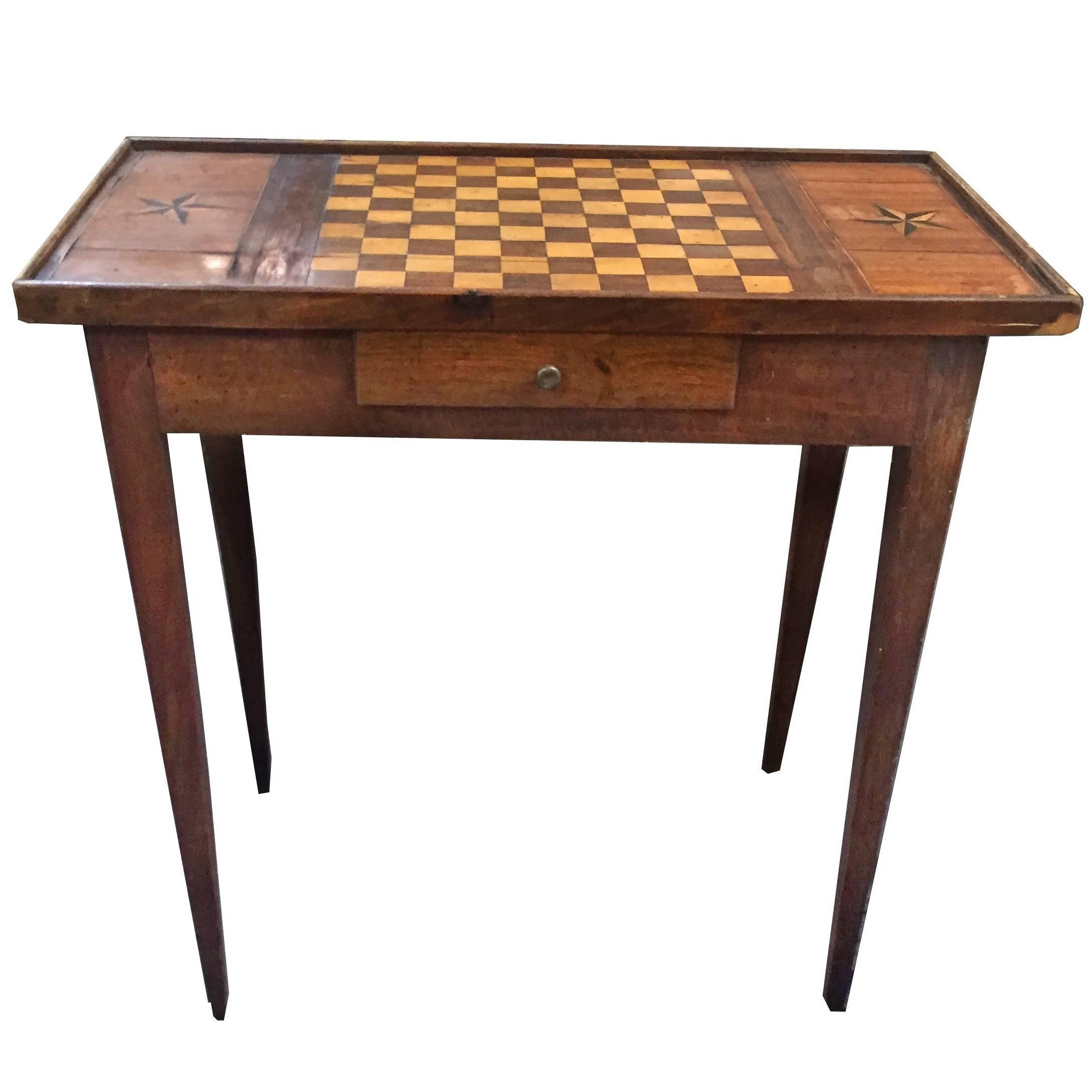 Louis XVI Game Table