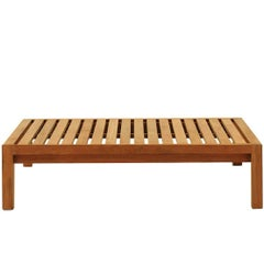 Roda Network 028 Teak Coffee Table Designed by Rodolfo Dordoni