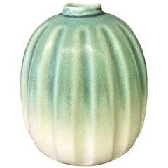 Melon Shaped Vase, Thailand, Contemporary