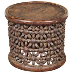 African Tribal Table or Stool