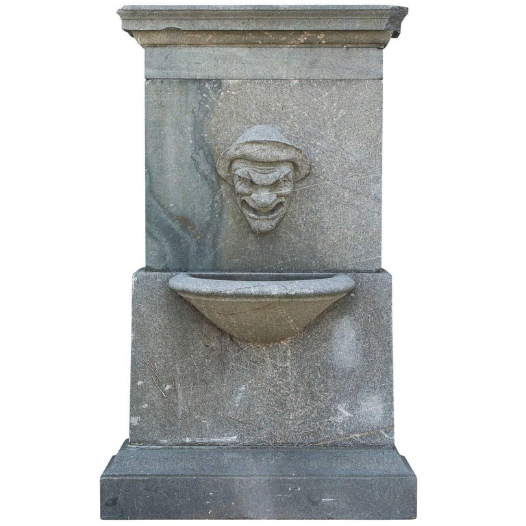 Wall Fountain with Zodiac Figure