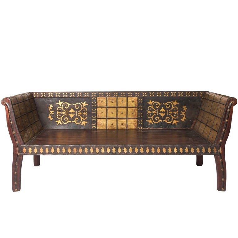 Anglo-Indian Bench 1 - Anglo-Indian Bench At 1stdibs