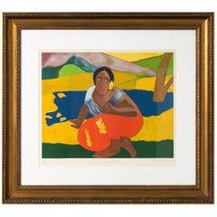 Lithographic in the Manner of Paul Gauguin