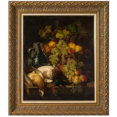 Still Life of Flowers and Fowl