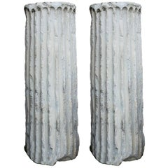 Pair of Marble Columns