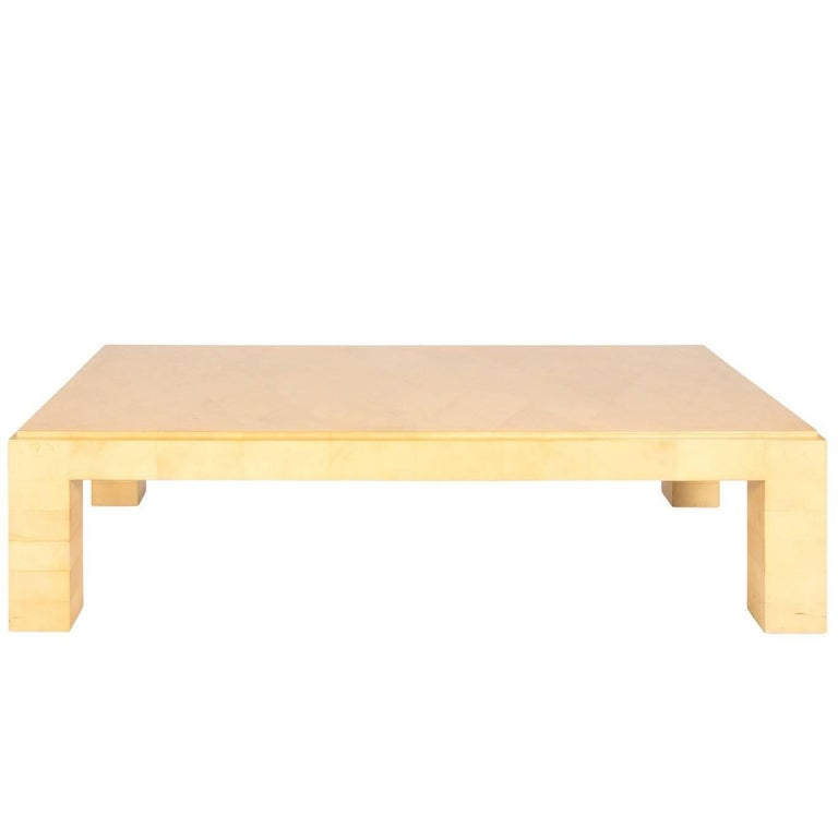 1970s Karl Springer Coffee Table For Sale At 1stdibs