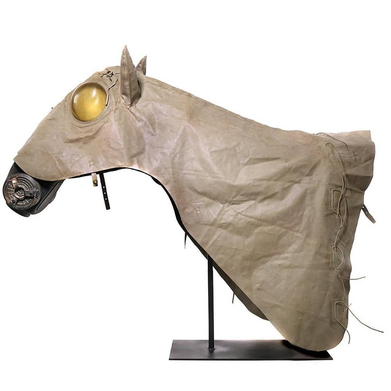 Japanese Horse Gas Shroud and Mask