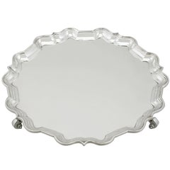 1920s Sterling Silver Salver