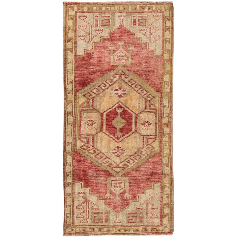 What Makes Turkish Rugs Great How You Can Read The Design Of A Turkish Rug: Vintage Turkish Anatolian Rug For Sale At 1stdibs