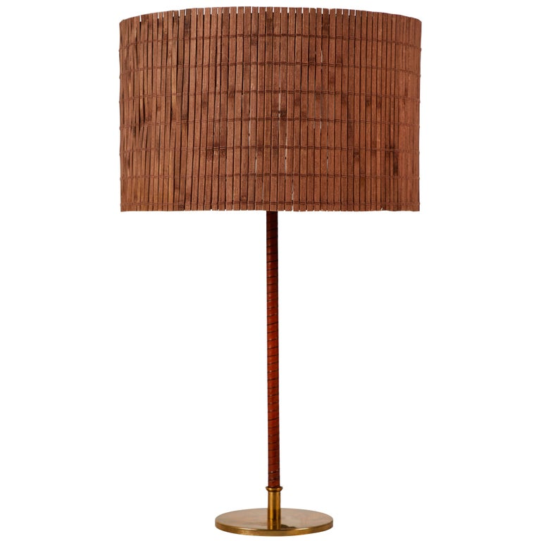 Model 9205 Table Lamp by Paavo Tynell for Taito Oy For Sale
