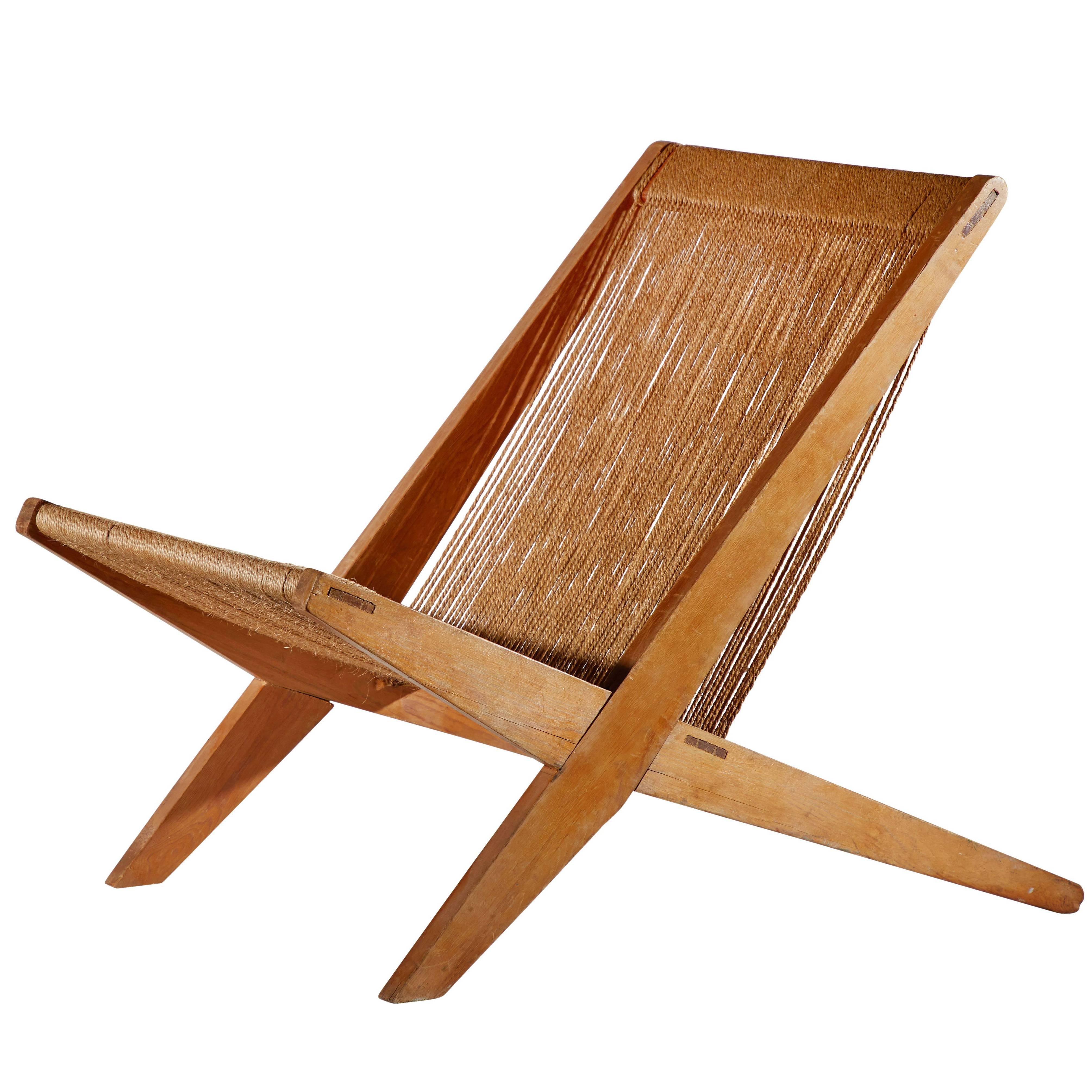 Merveilleux Snedkerier Lounge Chair By Poul Kjaerholm And Jørgen Høj For Sale