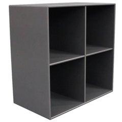 Bookcase Module 1112 By Montana In Dark Grey