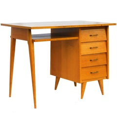 Mid-Century Desk Writing Table, French, circa 1960