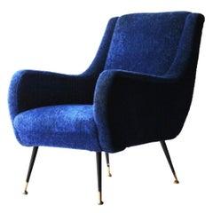 Marco Zanuso Style Armchair, Italy, 1950