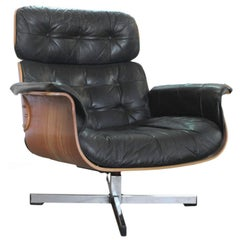Lounge Chair with Ottoman Designed by Scholl