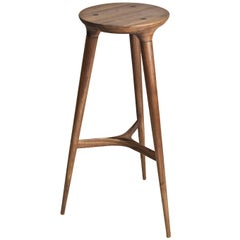 Kingstown Barstool, Contemporary Three-Legged Stool by Studio DUNN