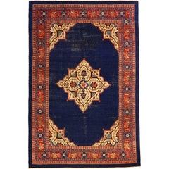 Antique Persian Bijar Rug, circa 1880s