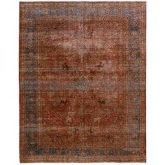 Antique Persian Tabriz Rug, circa 1900s