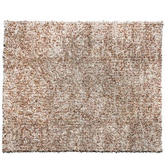 Jack Lenor Larsen Wool and Leather Carpet