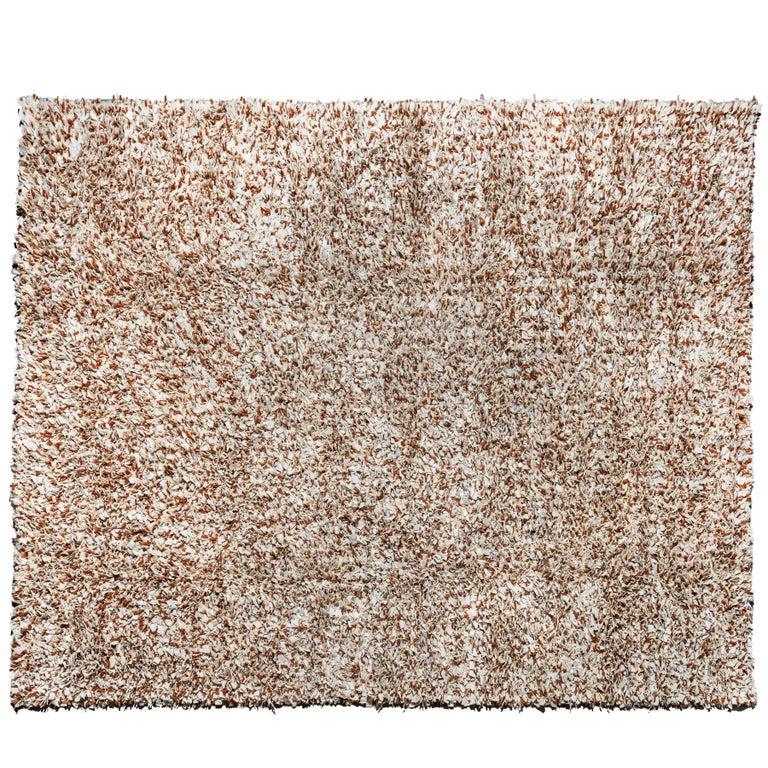 Jack Lenor Larsen Wool and Leather Carpet