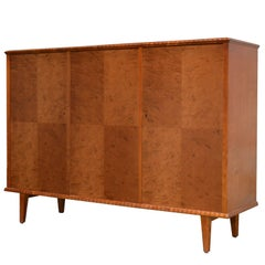 Swedish Art Moderne Three-Door Credenza