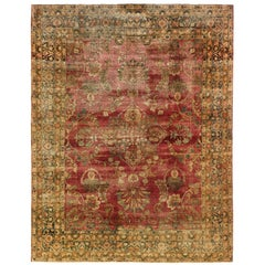 Antique Persian Kermanshah Rug, circa 1900s