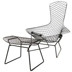 Harry Bertoia for Knoll International, Bird Chair with Ottoman