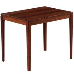 Swedish Mid-Century Modern Rosewood Side Table by Ulferts Møbler, circa 1960s