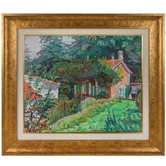 Signed, French, Impressionist Style Oil Painting