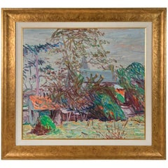 Large, Dated, Original, Impressionist Style Painting