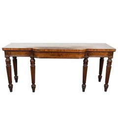 Large, Stamped, English Console from Gillows, Lancaster